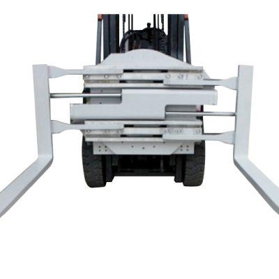 Ymlyniad Forklift Dosbarth 2 Clamp Fforc Cylchdroi Gyda Hyd 1220 mm